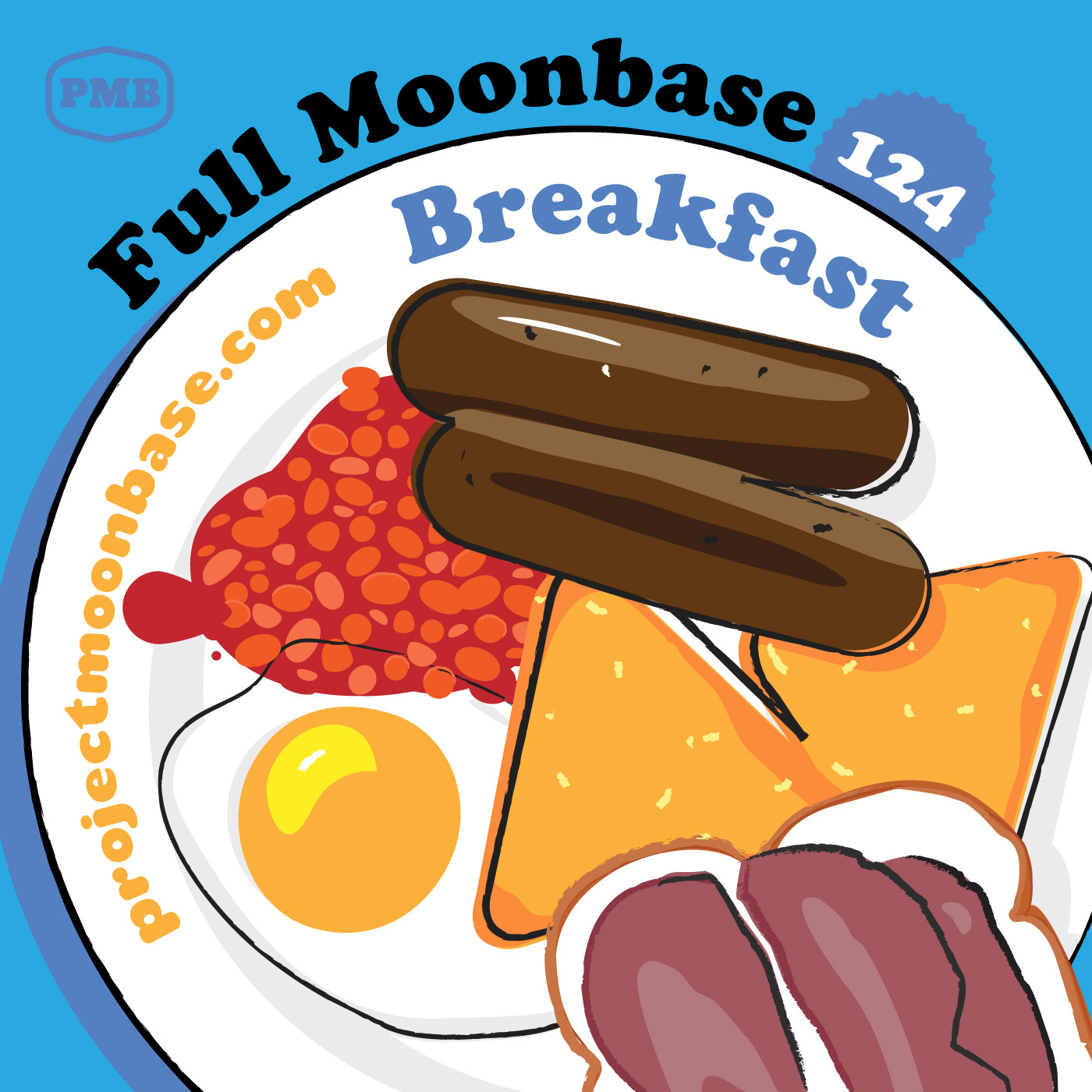 PMB124 Full Moonbase Breakfast