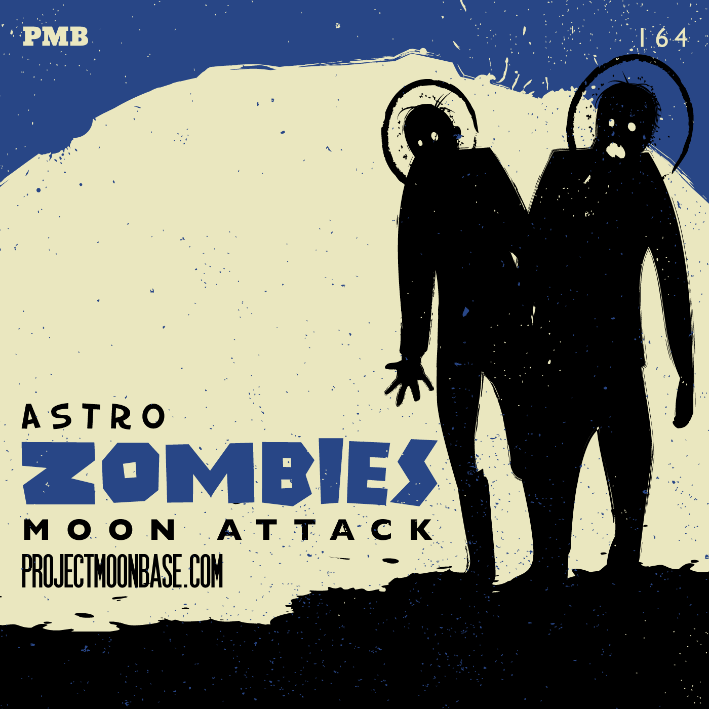 PMB164 Astro Zombies Moon Attack
