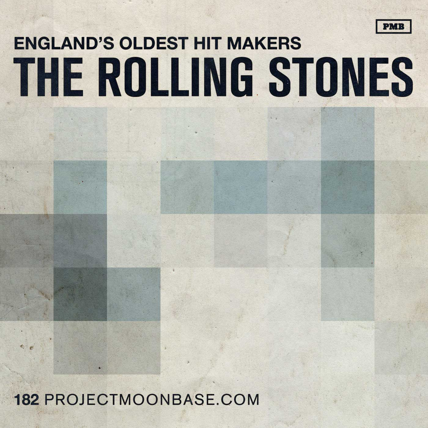 PMB182 The Rolling Stones - England's Oldest Hit Makers