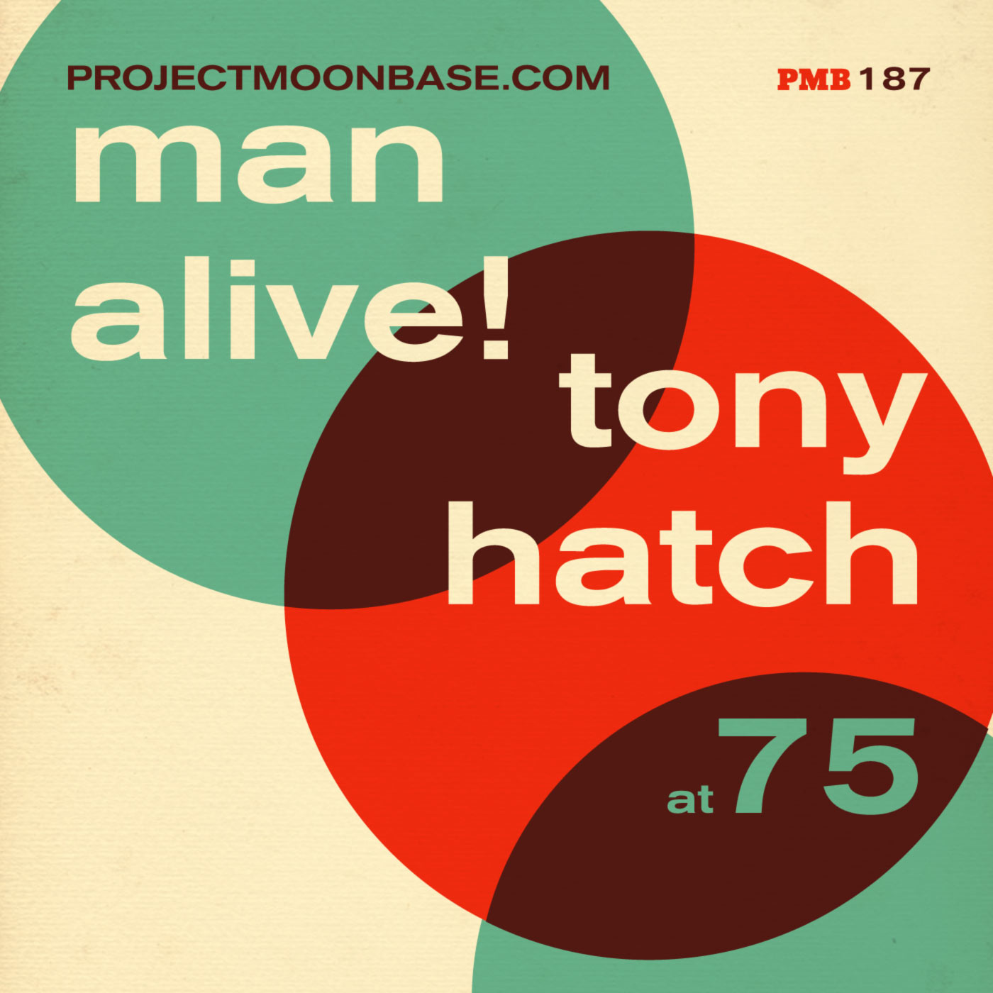 PMB187: Man Alive - Tony Hatch At 75