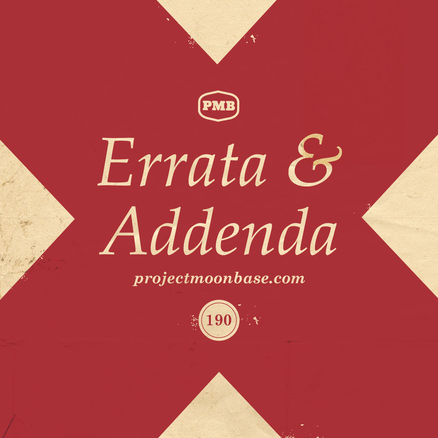 PMB190: Errata and Addenda