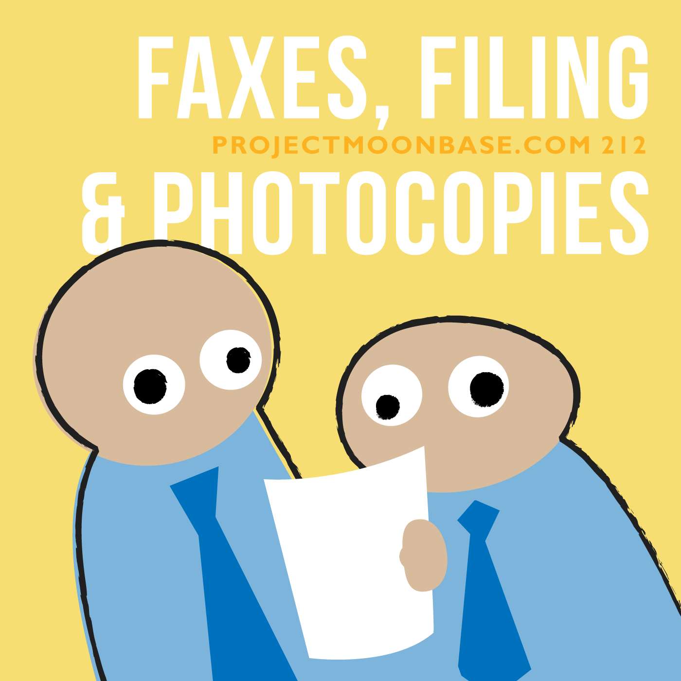PMB212: Faxes, Filing and Photocopies