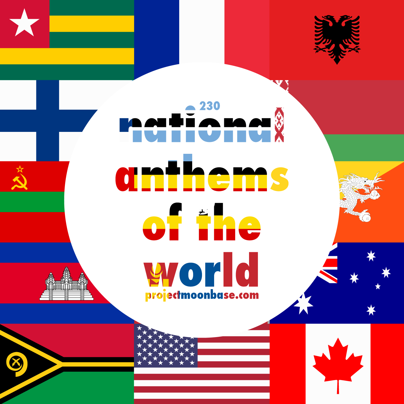 PMB230: National Anthems of the World