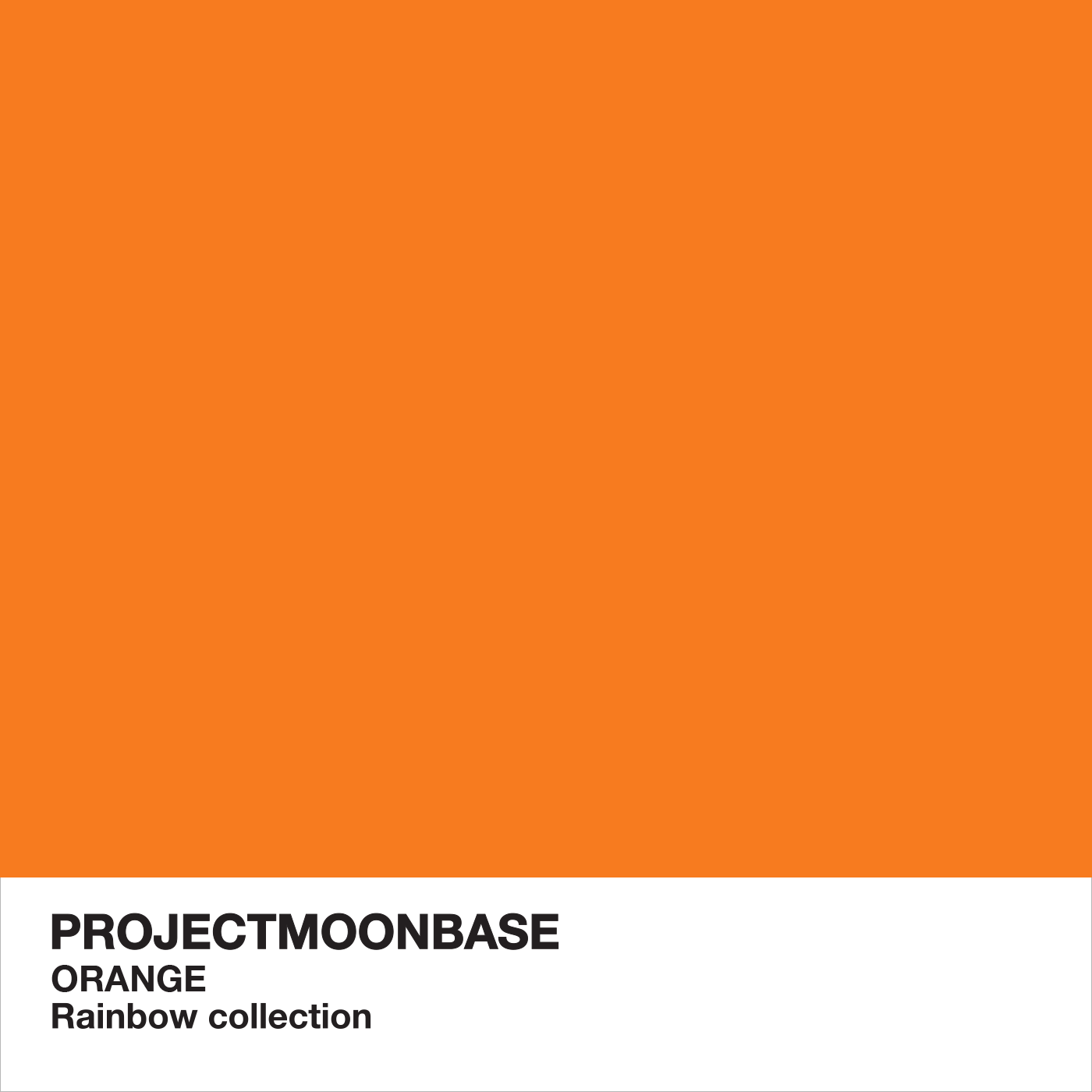 PMB248: The Rainbow Collection: Orange