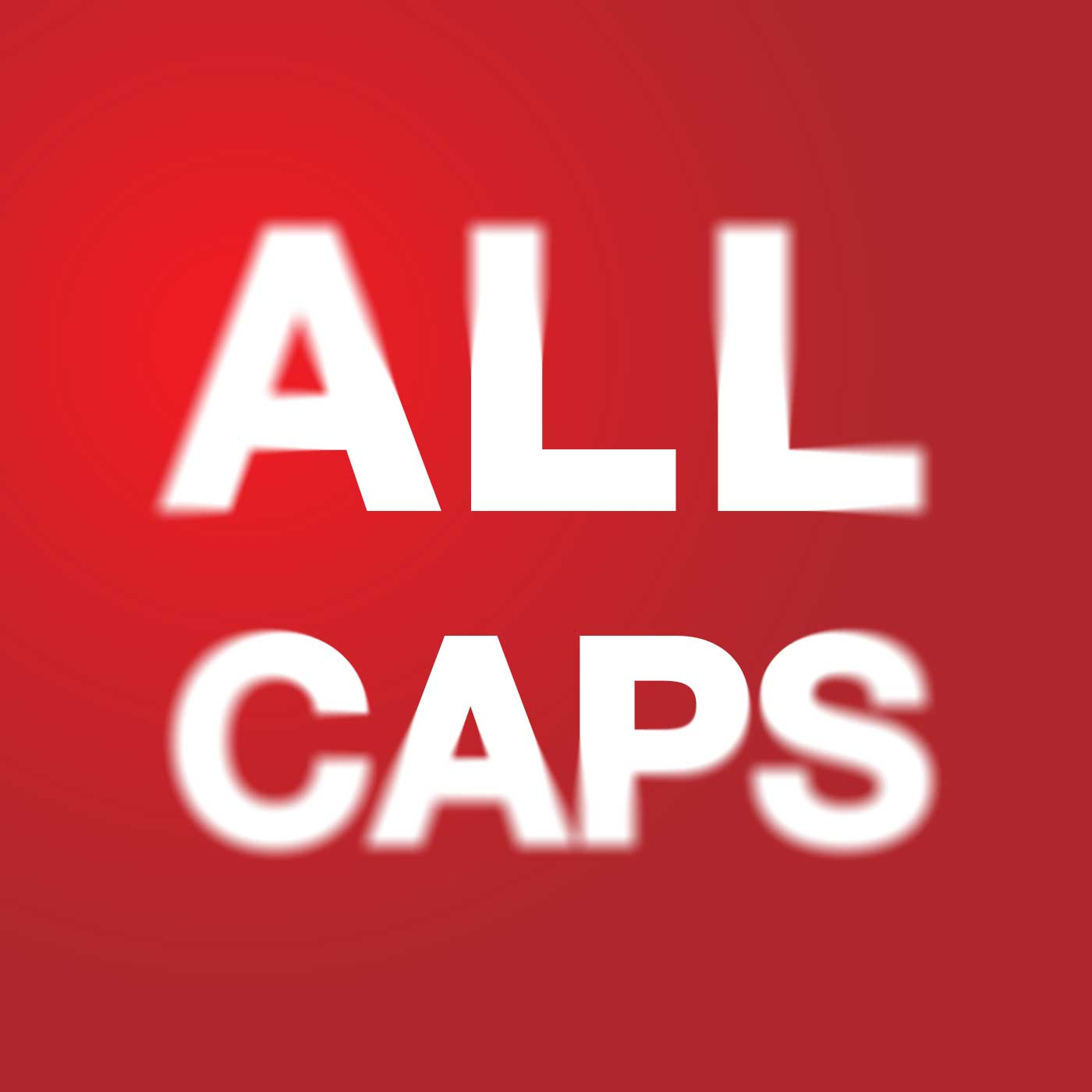 PMB249: ALL CAPS