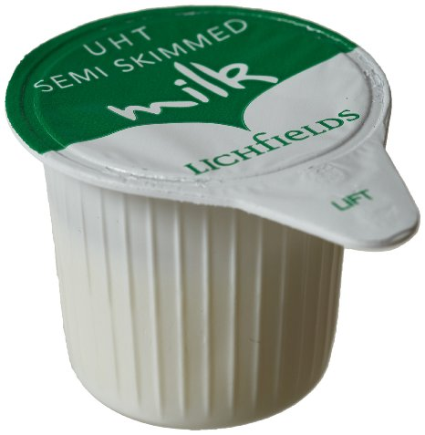 Lichfields UHT Semi Skimmed Milk 120 x 12ml Portions