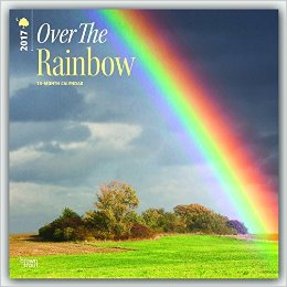 Over the Rainbow 2017 Wall Calendar